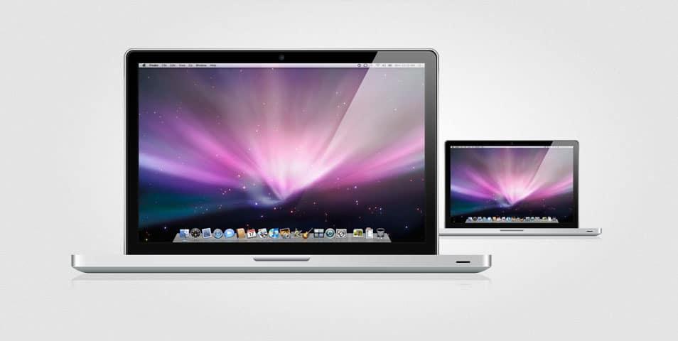 Fully Layered MacBook Pro (PSD)