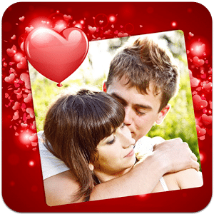 Heart Photo Frames & Stickers