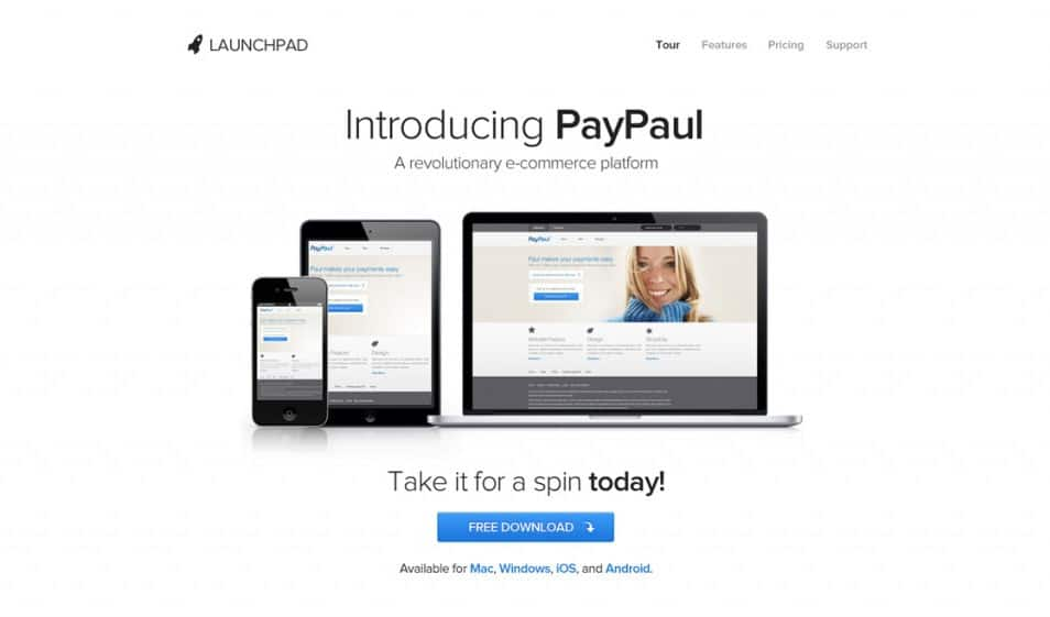 Launchpad – Product/Service Launch Template (PSD)