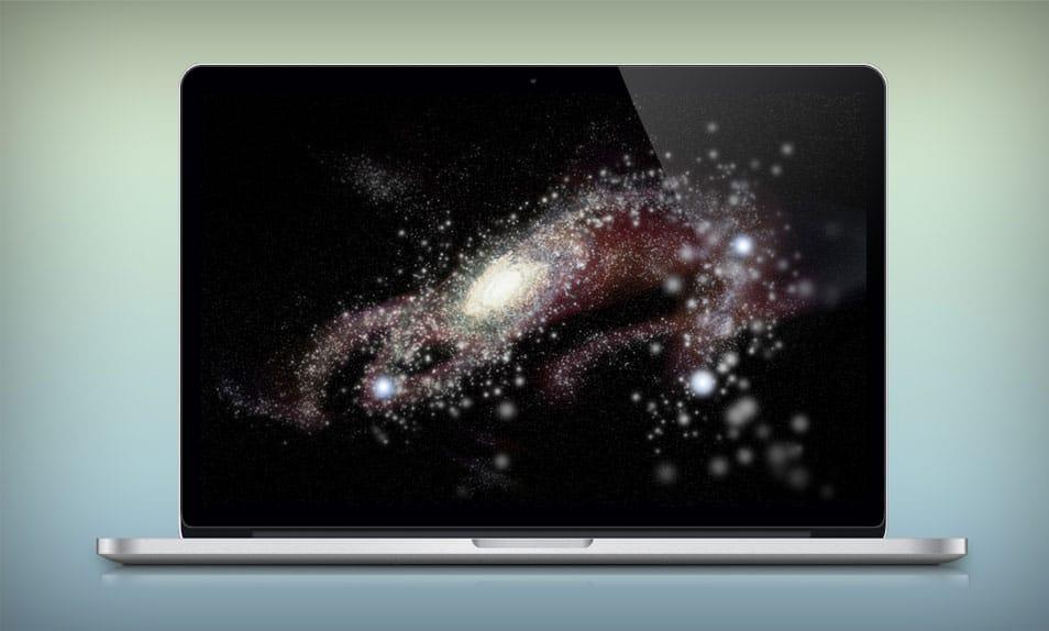 MacBook Pro with Retina Display (PSD)