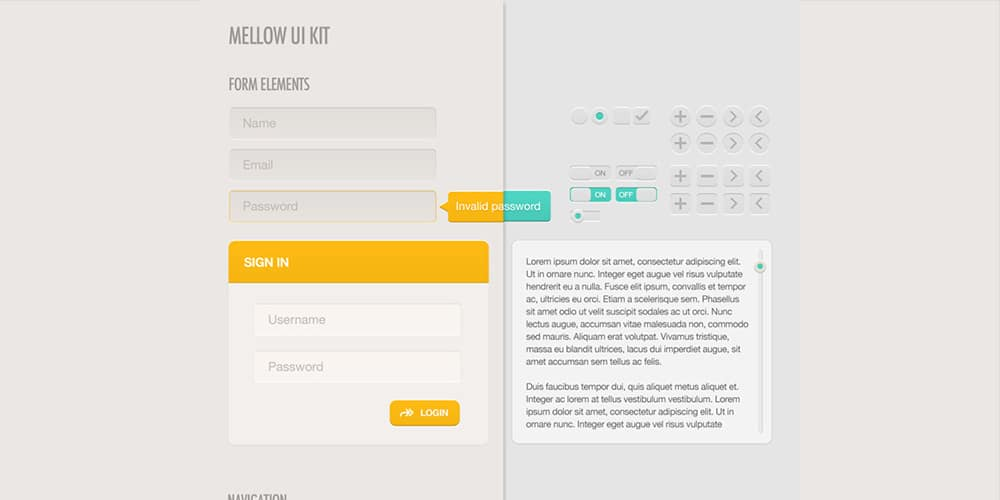Mellow UI Kit