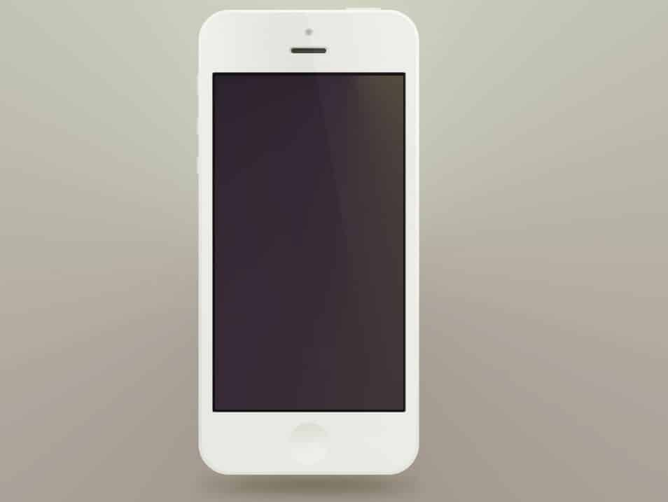 Minimal iPhone5 PSD's