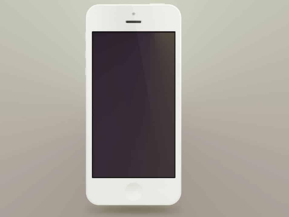 Minimal iPhone5 PSD's