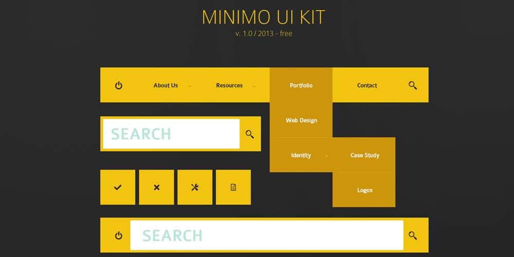 Minimo UI Kit