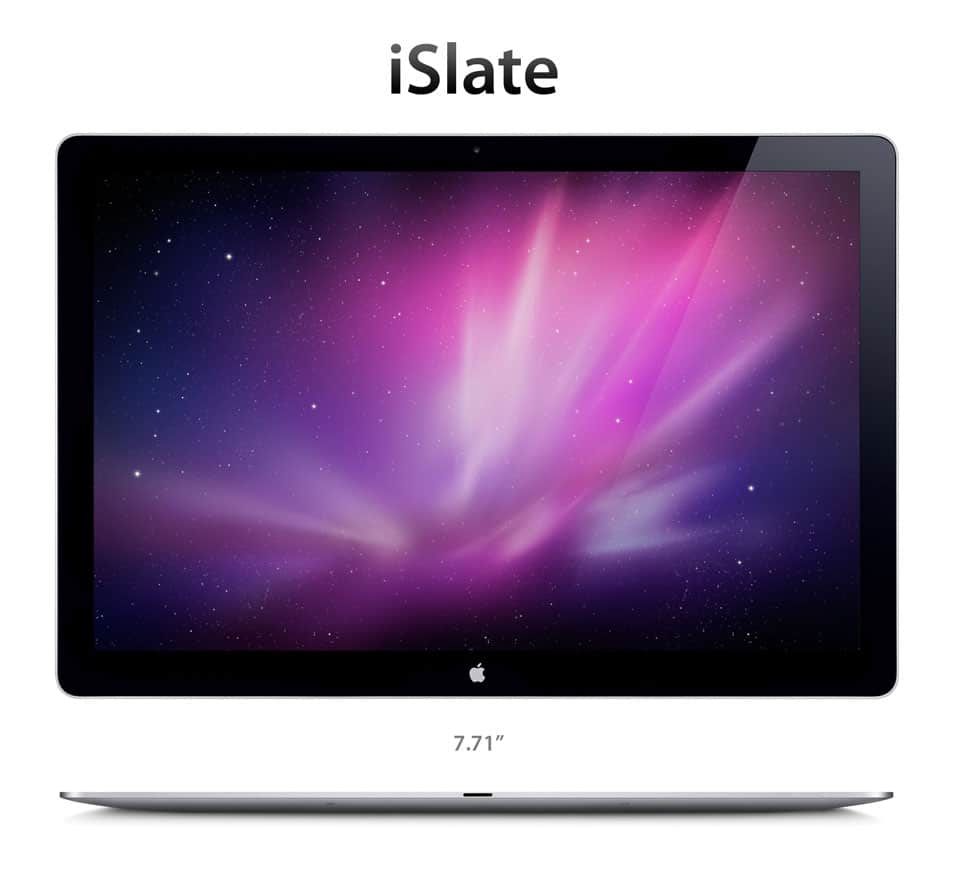 Mockup - iSlate