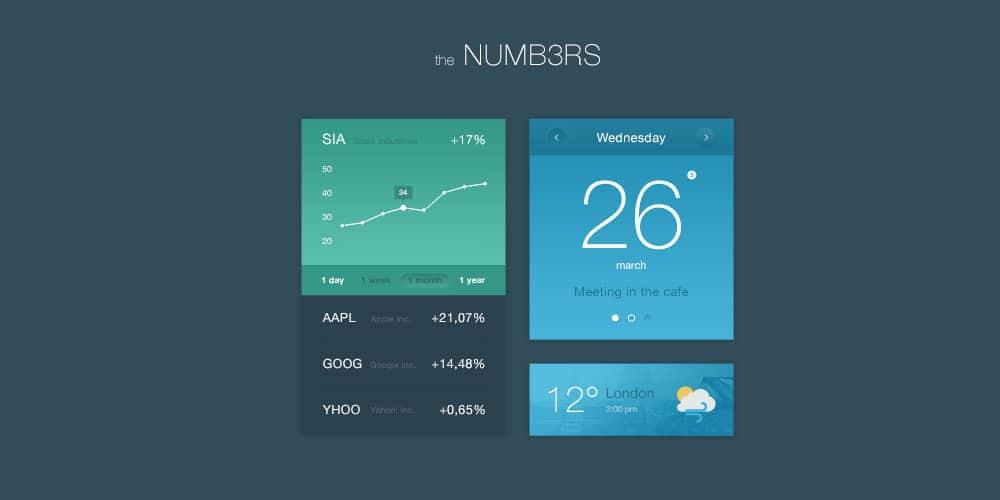 Numbers UI Kit