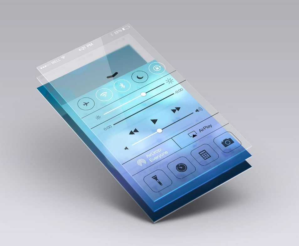 Perspective App Screen Mock-Up 5
