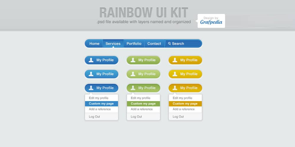 Rainbow UI Kit