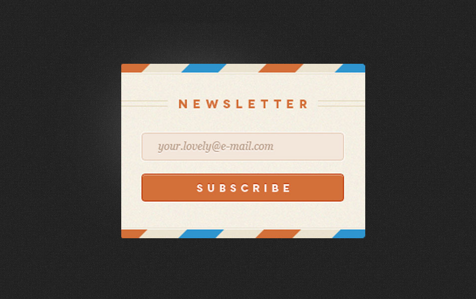 Rebound Newsletter with PSD