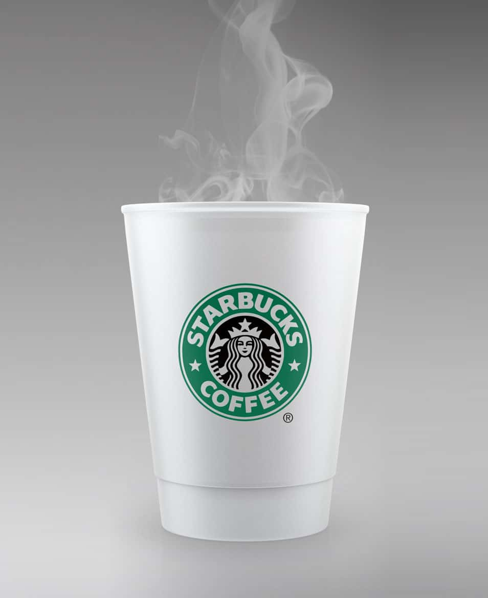 STARBUCKS Style Cup Mockup
