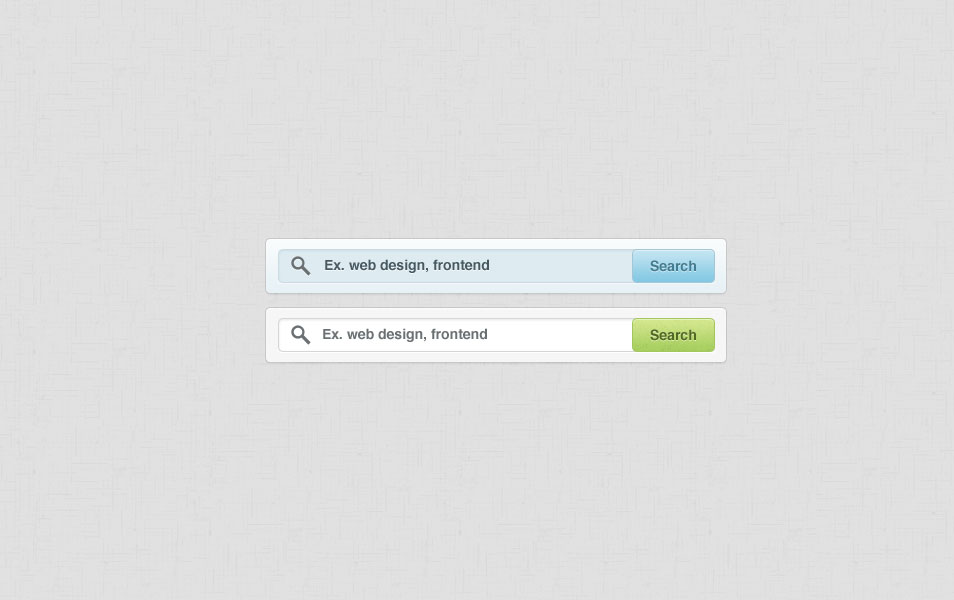 Search box PSD