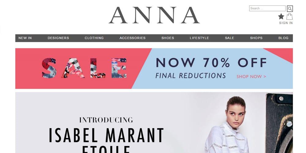 Shop At Anna
