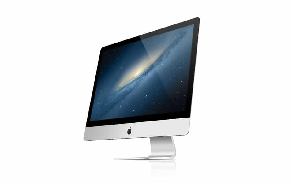 The New iMac – 2012 (PSD)