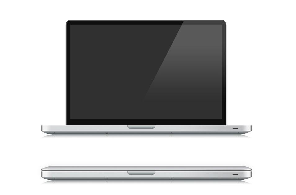 Vectorized Macbook Pro