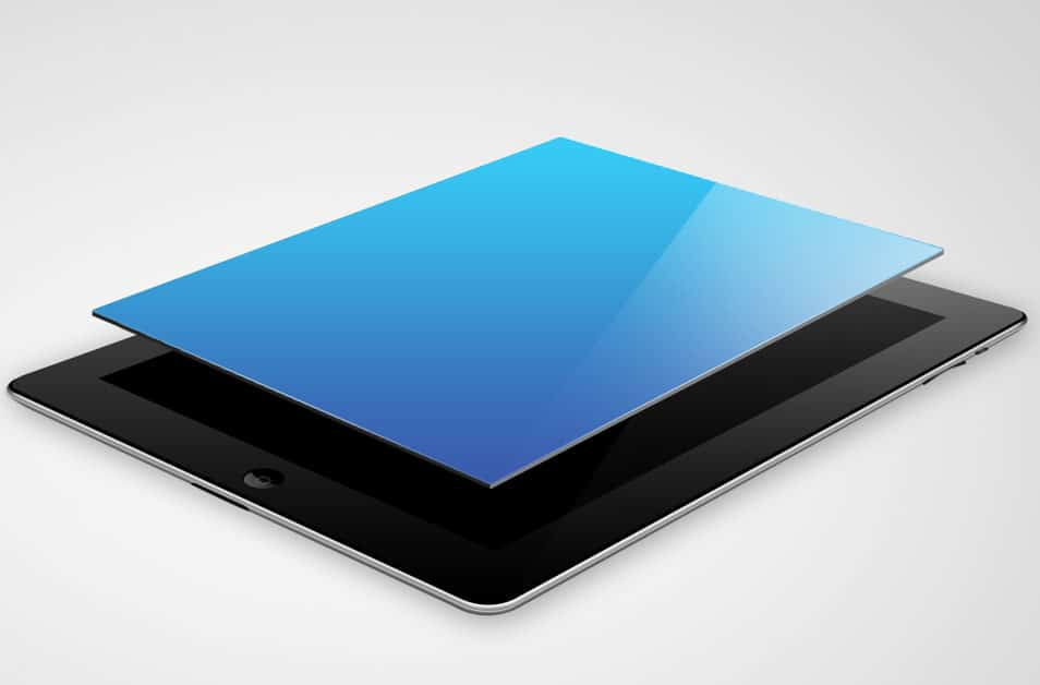 iPad Mockup Template PSD