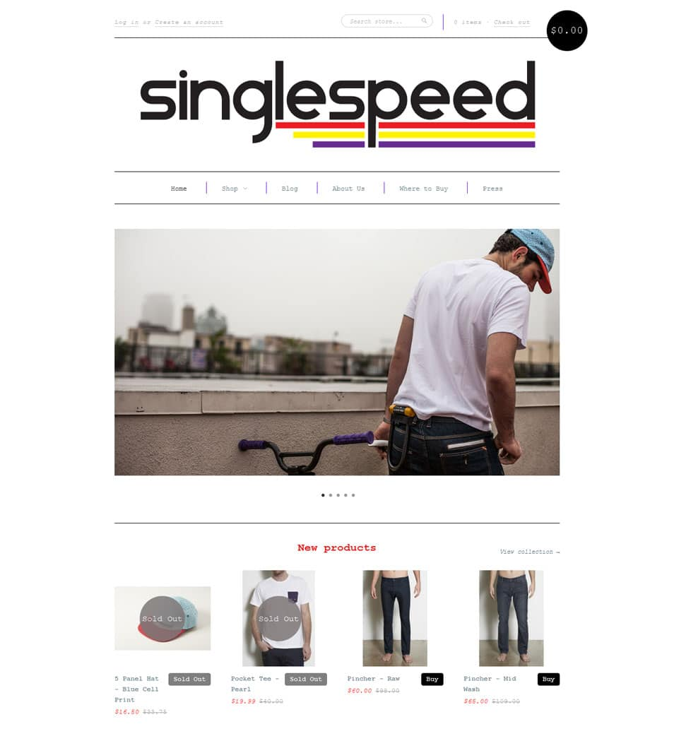 single speed Apparel
