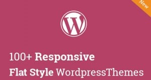 100+ Responsive Flat Style WordPress Themes – Latest Collection