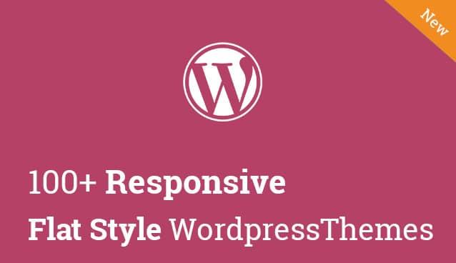 100+-Responsive-Flat-Style-Wordpress-Themes