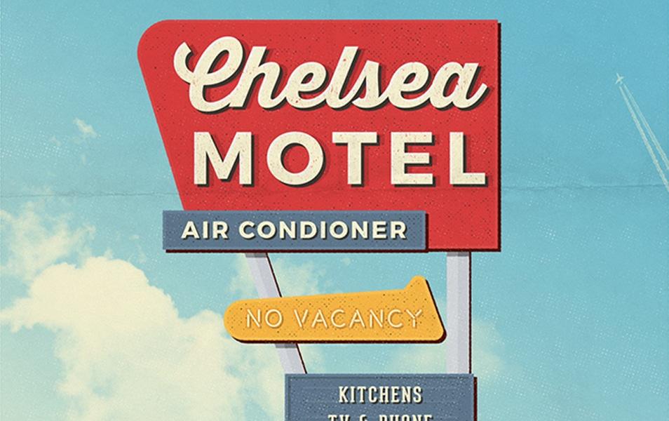 4 Vintage Motel Sign Mockups