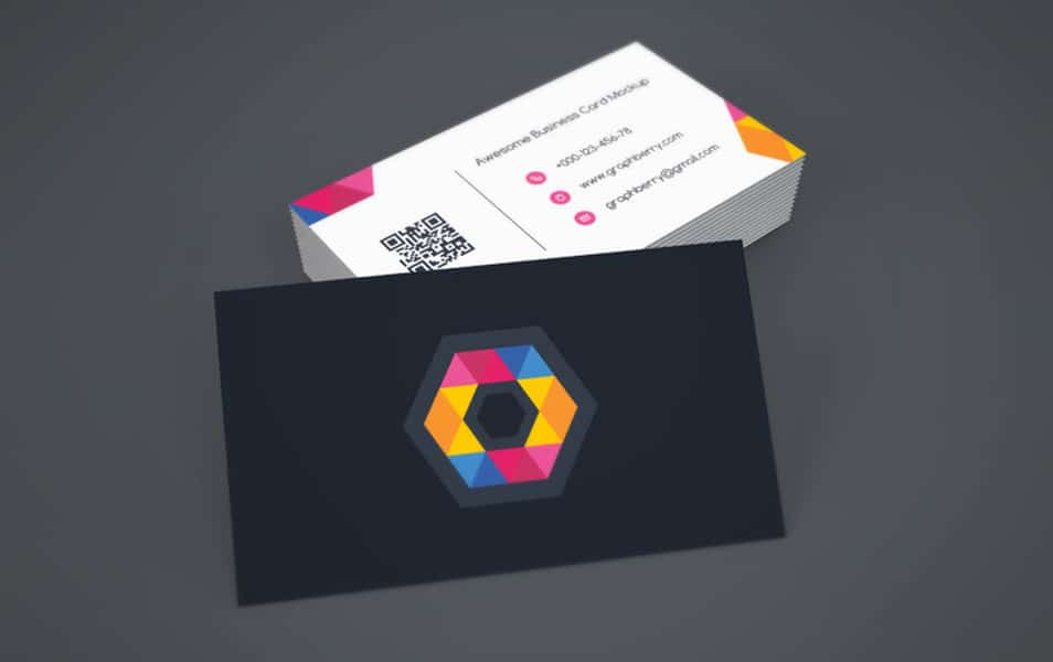Business Card Mockup Vol.9