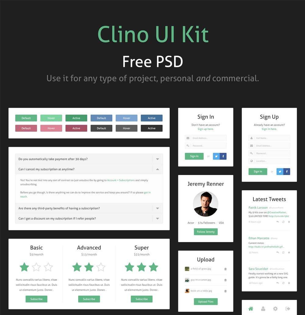 Clino UI Kit
