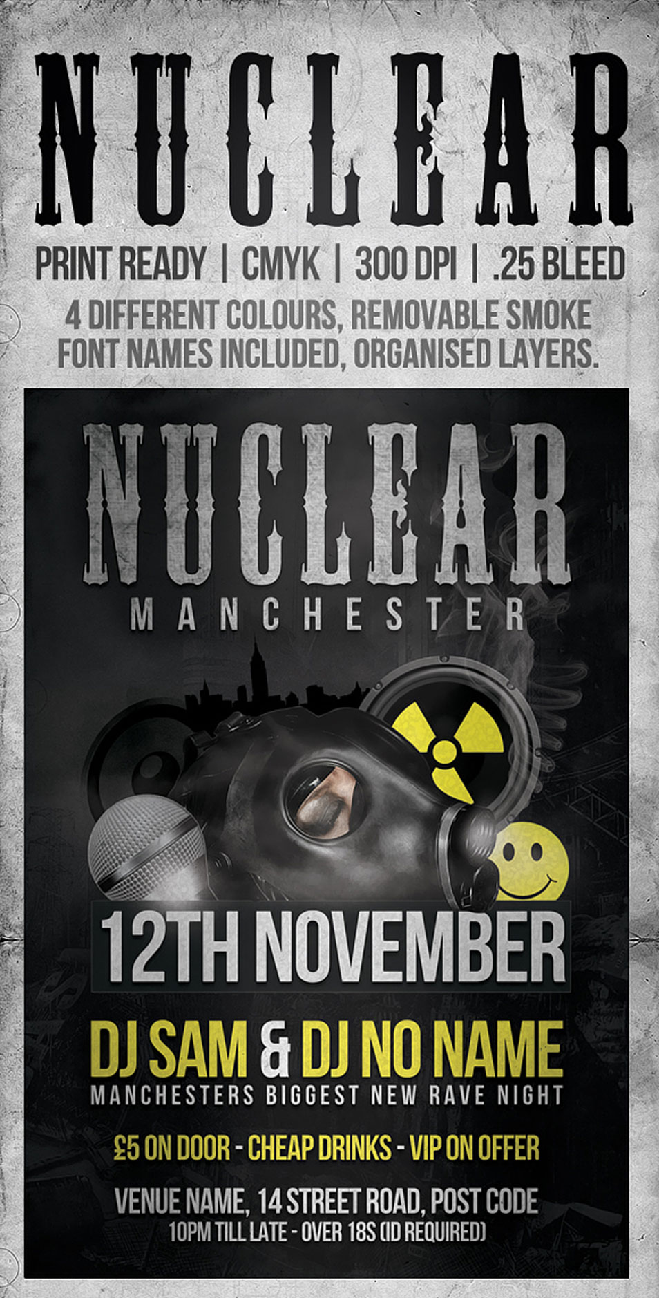 Free Nuclear Flyer Template