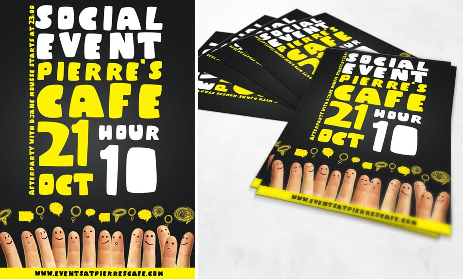 Free PSD Flyer Social Event Flyer