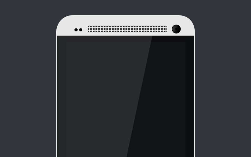 HTC ONE TEMPLATE (PSD)