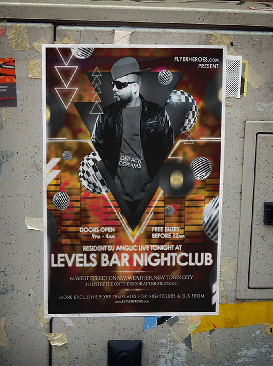 best flyer templates psd css author levels nightclub flyer template