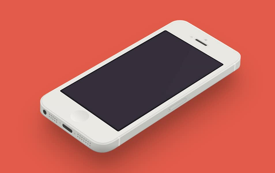 Minimal iPhone Template