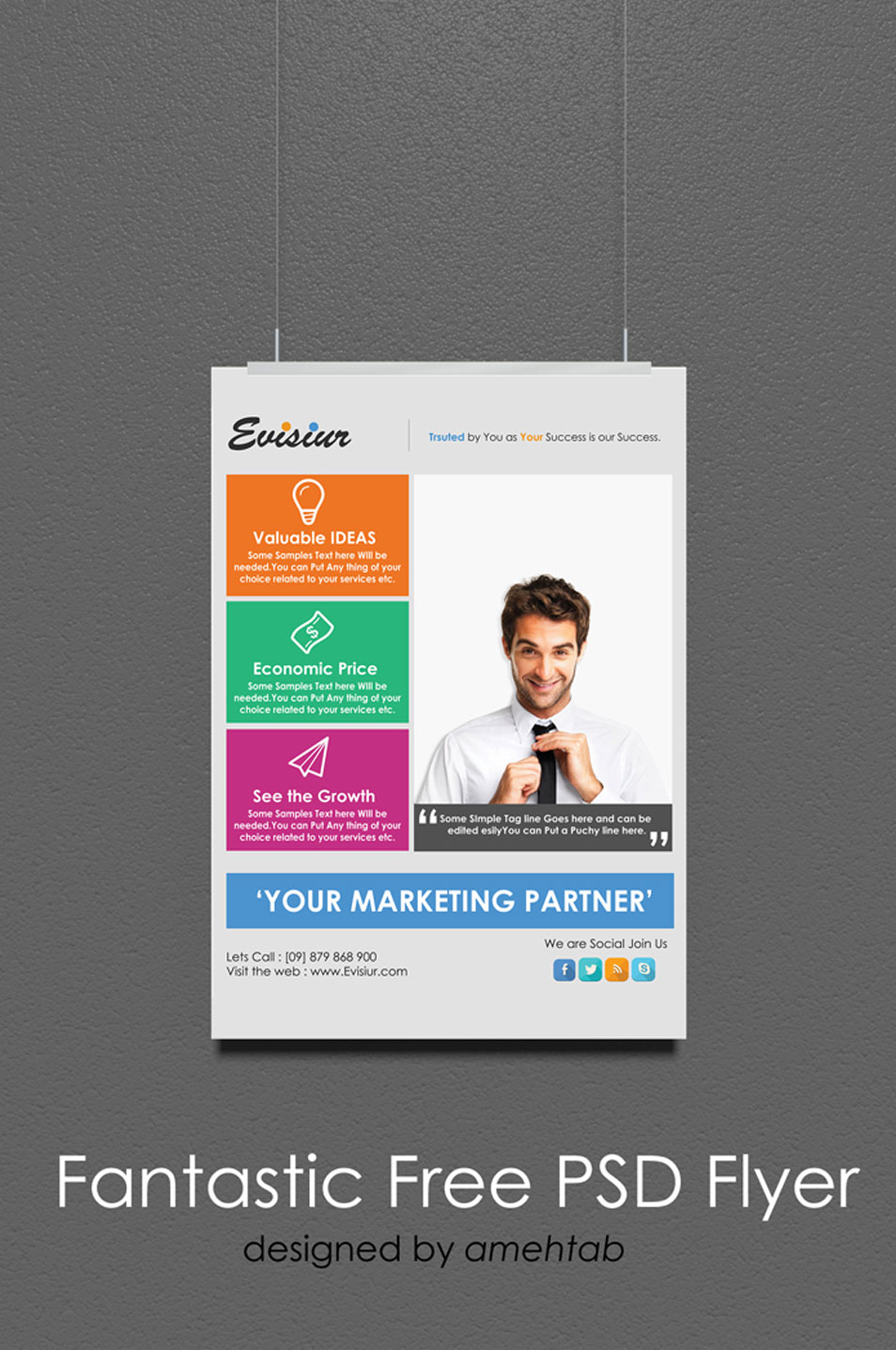 Multi Purpose Flyer Template PSD