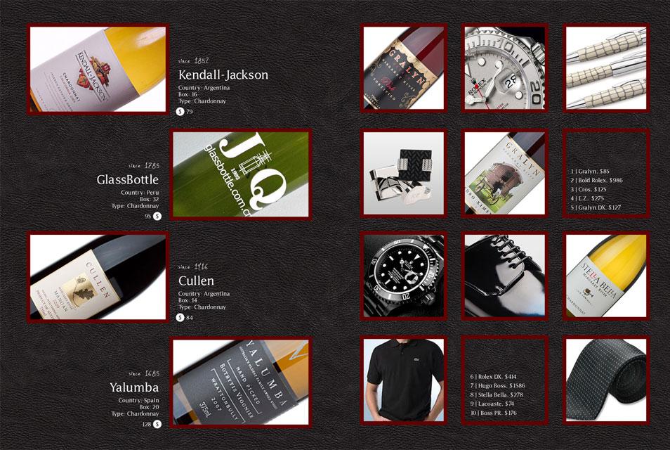 PSD Elegant Catalog Template