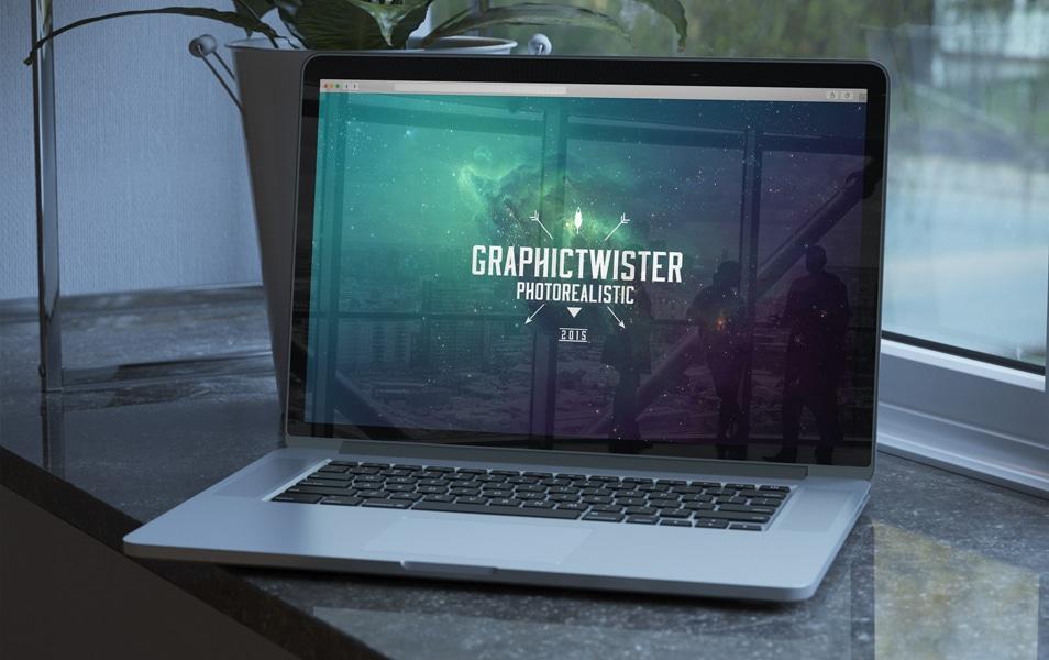Premium MacBook Pro Mockup