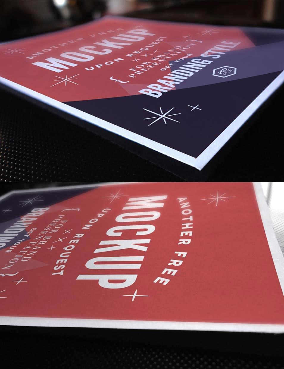 Psd A4 Paper Mock-Up Vol2