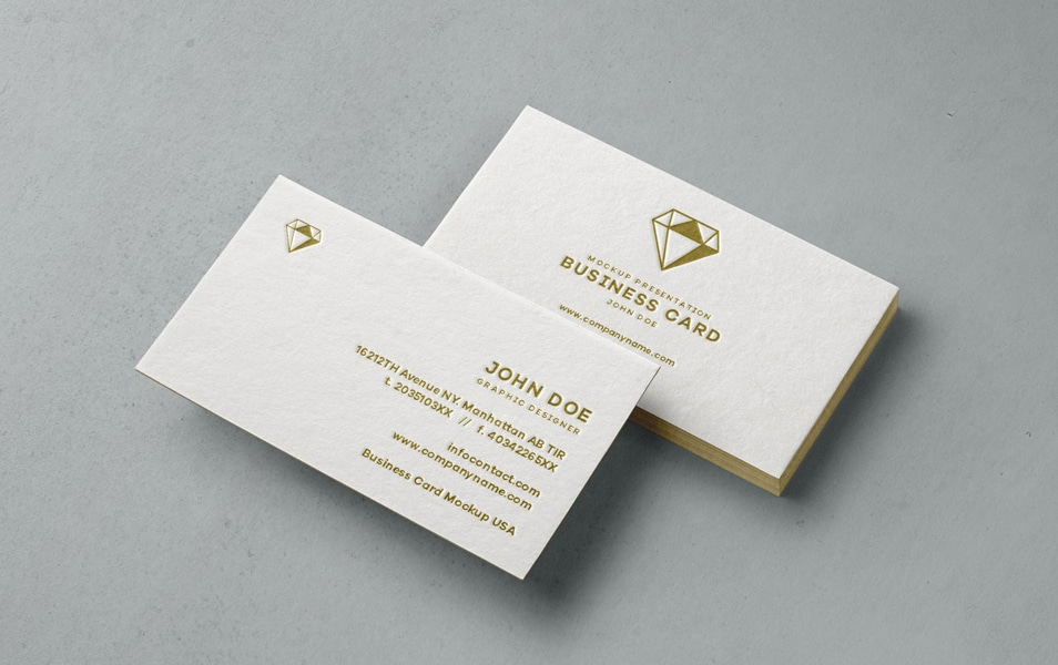 Psd Business Card Mock-Up Vol31