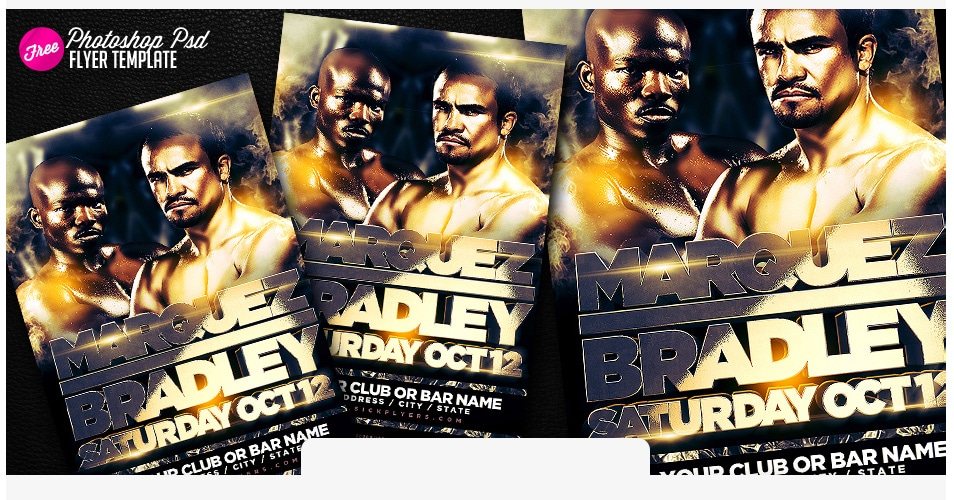 bradley marquez poster template