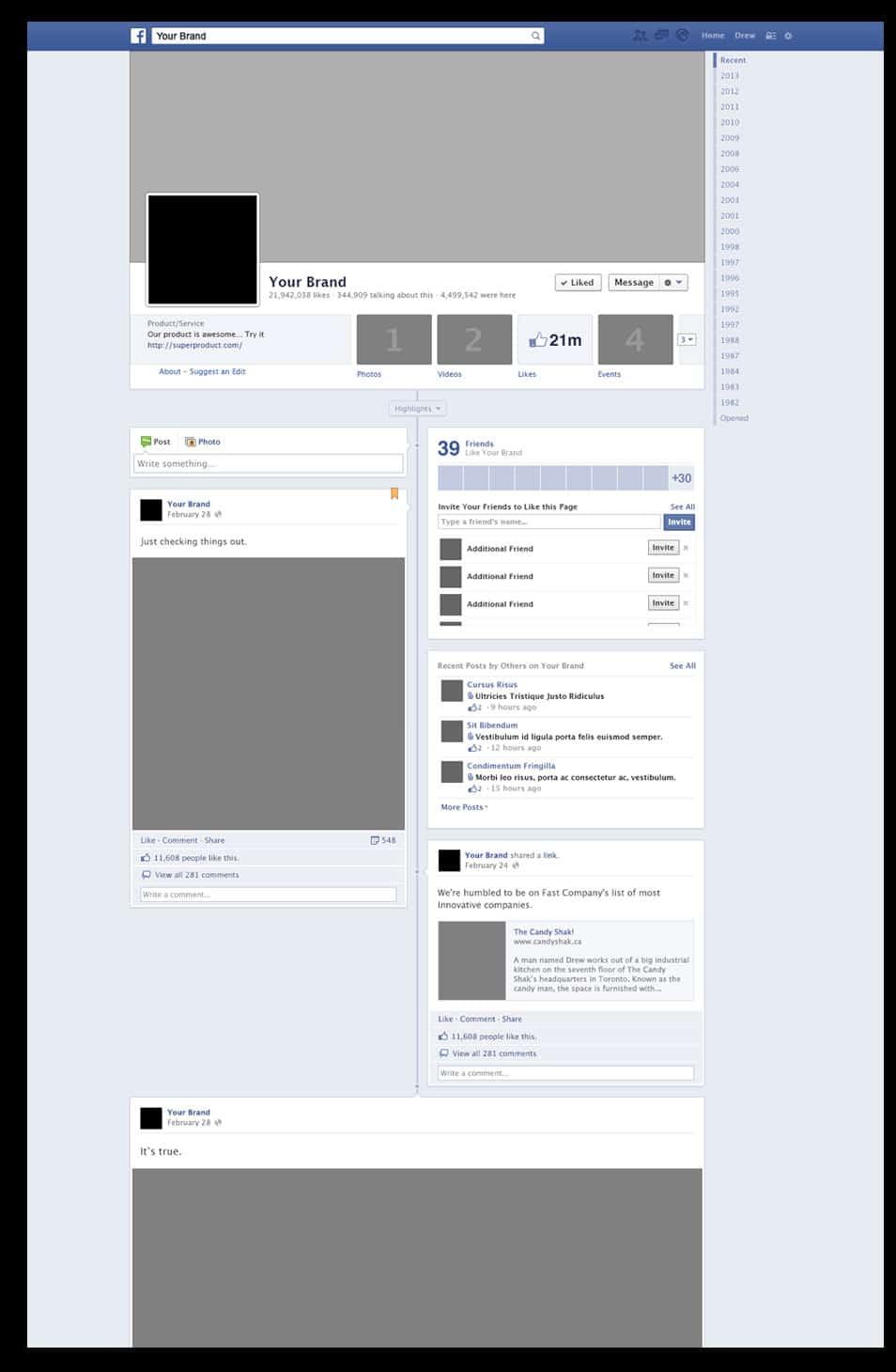 facebookPSD