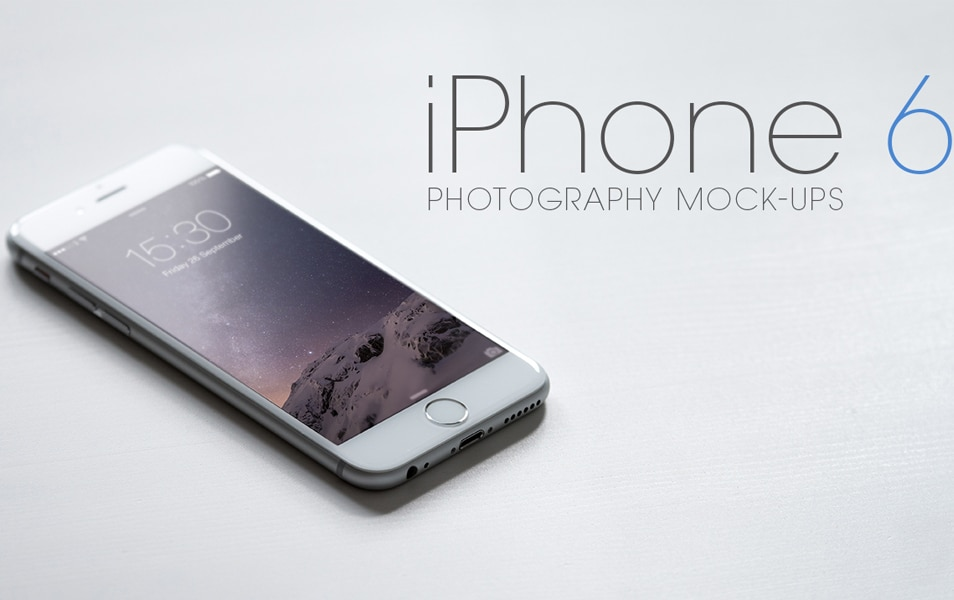 iPhone 6 Photography Mock-Ups