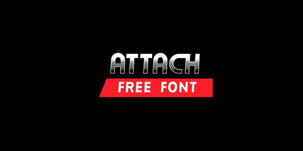 Attach Bold Free Font