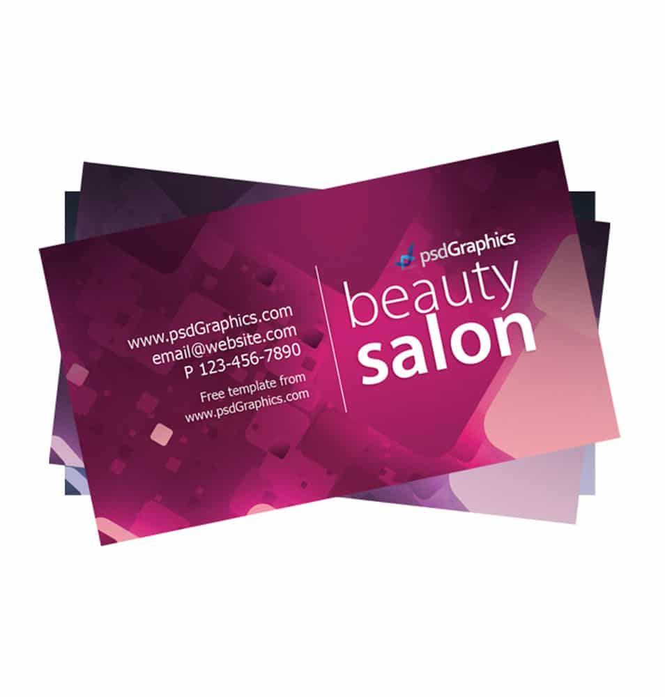 100 free business cards psd beauty salon business card template magicingreecefo Images