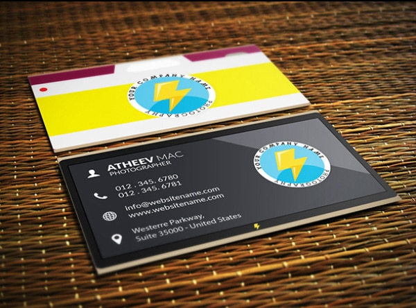 Business Card Tempaltes PSD
