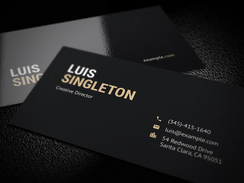 Psd Business Card Template Insssrenterprisesco - Business card templates psd