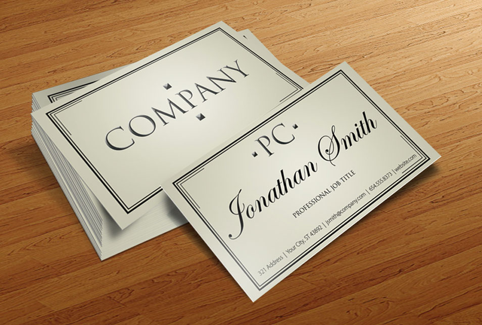 Business Card Template ProCard