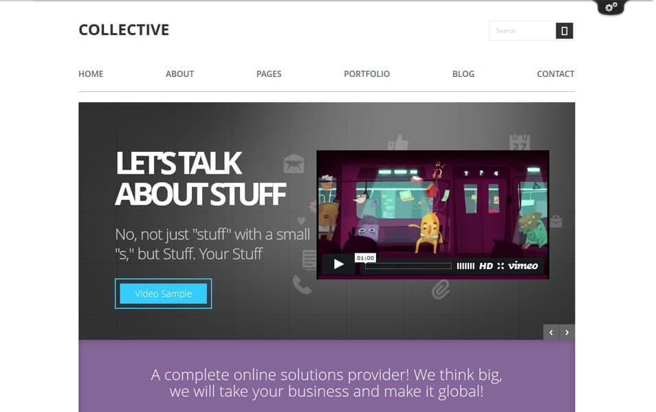 Collective - Professional WordPress Theme