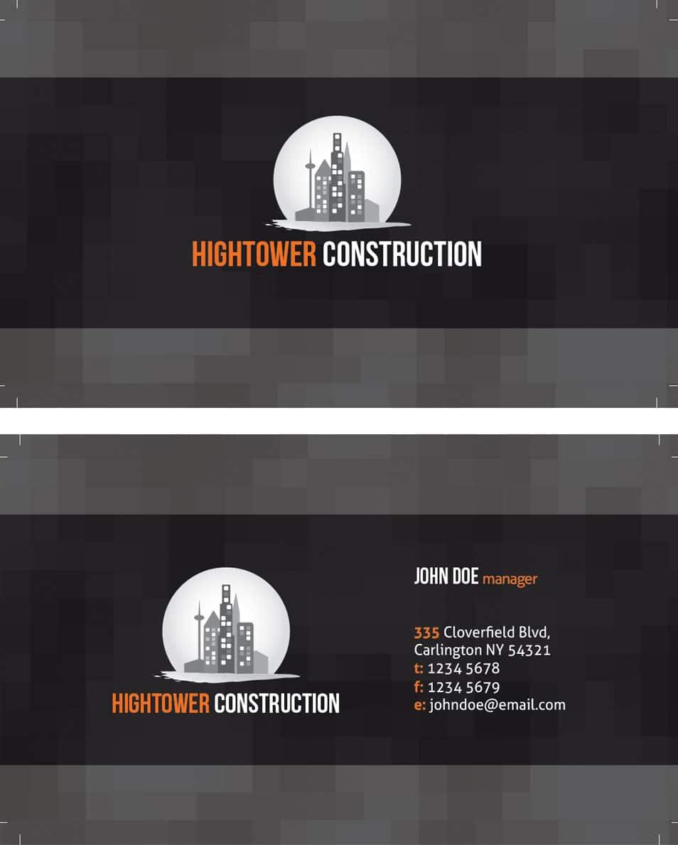 Creative Elegant Corporate Business Card Template