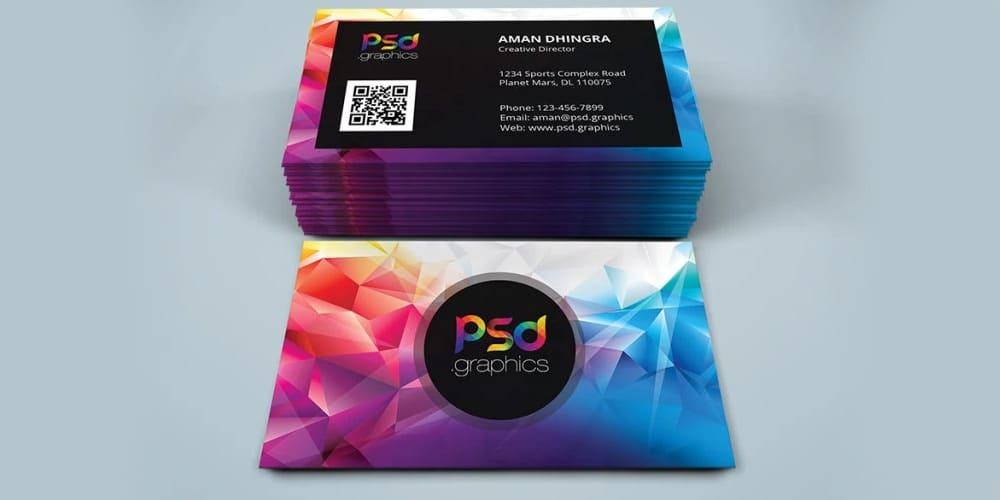 Creative Studio Business Card PSDCreative Studio Business Card PSD