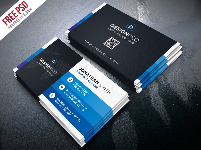 Creative and Modern Business Card PSD