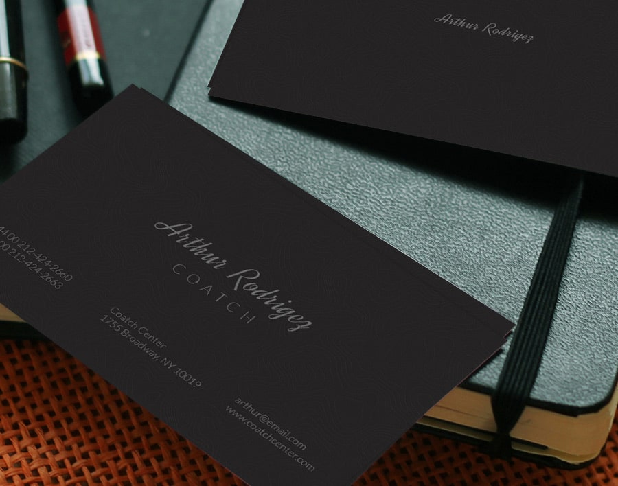Dark Business Card PSD