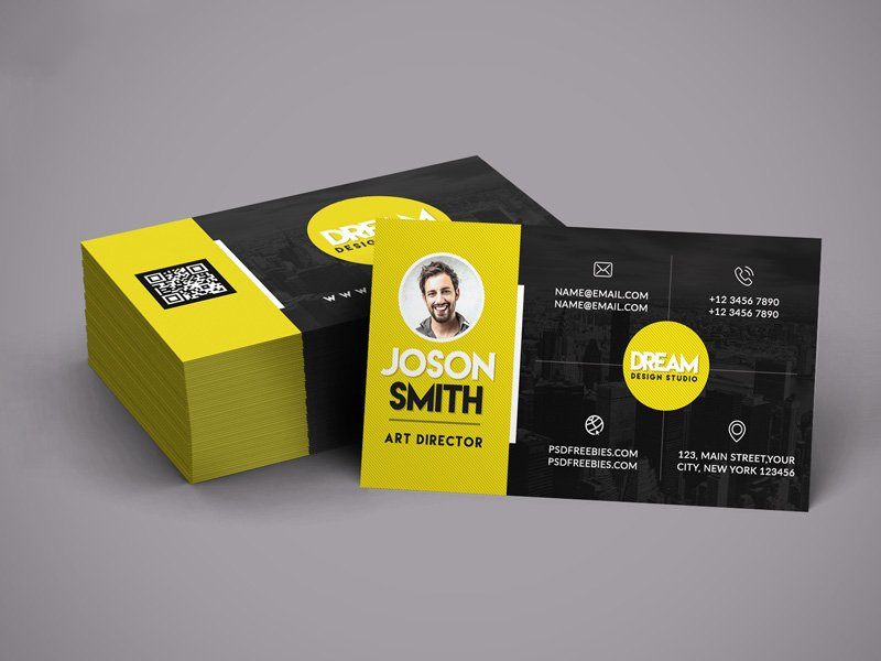 Design Studio Business Card Template PSD