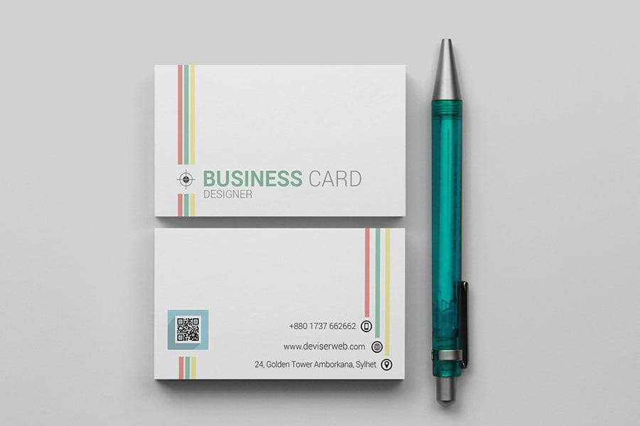 Free-Colorful-Line-Business-Card-Template-PSD